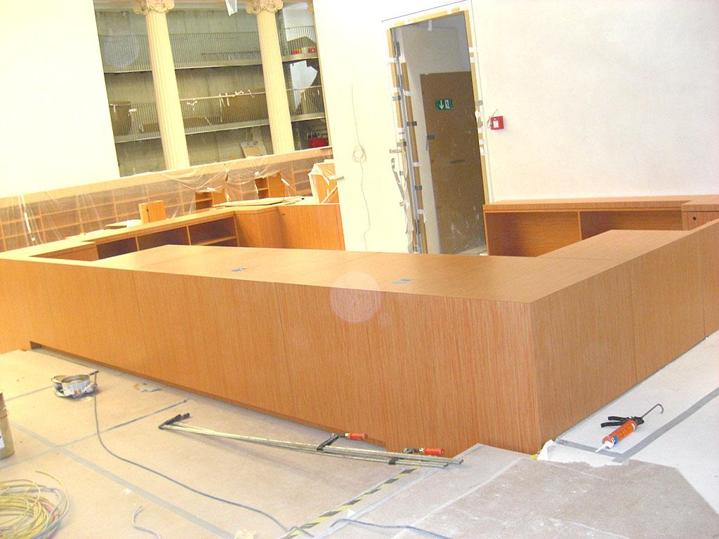 schreinerei bl ml fertigung von fenster fassaden und haust ren stadtbibliothek berlin. Black Bedroom Furniture Sets. Home Design Ideas